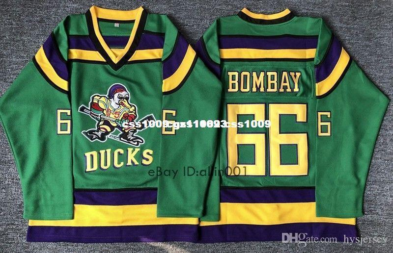 2019 Cheap Custom  66 Gordon Bombay Hockey Jersey Stitched Green Stitched  Customize Any Number Name MEN WOMEN YOUTH XS 5XL From Hysjersey 8a2fb8e29a1