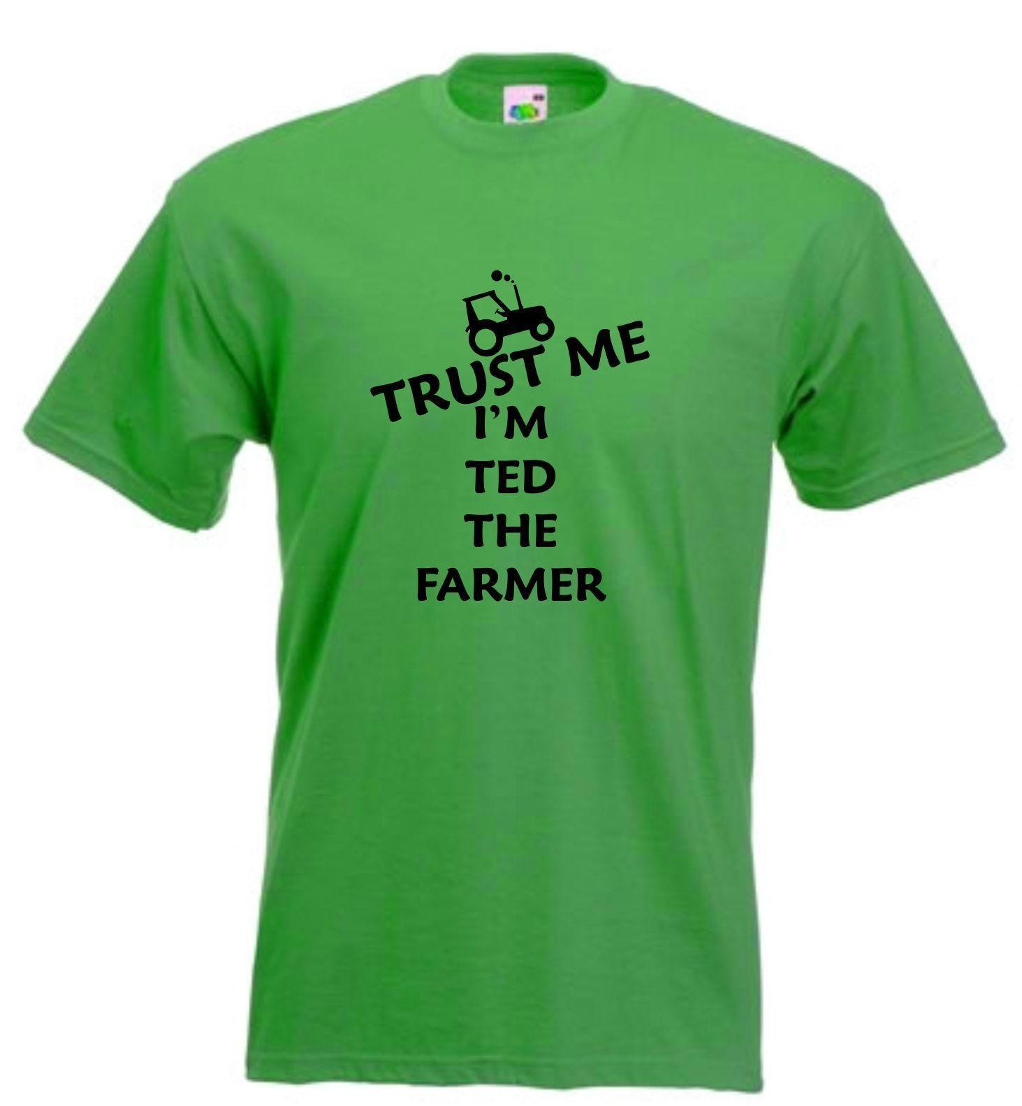 576c5a7ea2 ... farmer t shirt personalised farm tshirt trust me t shirt funny ...