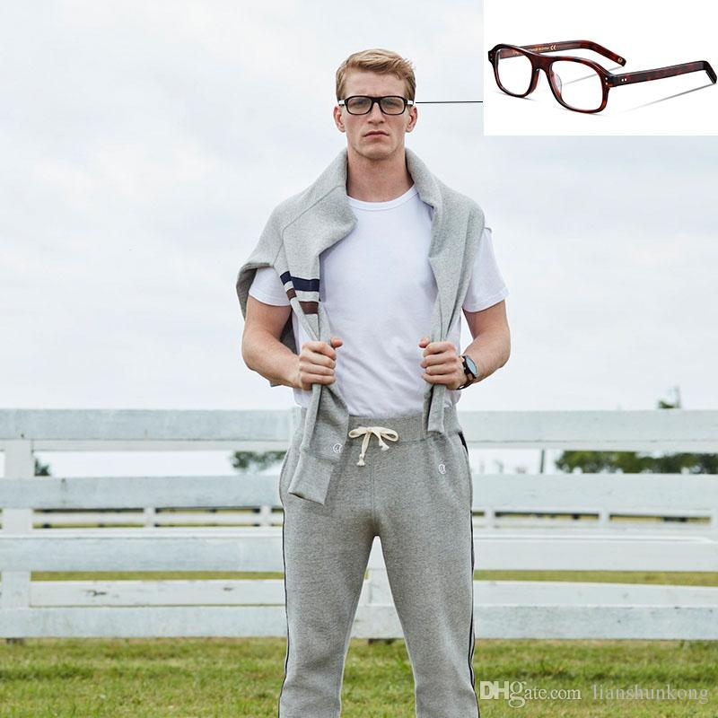 a657a2df1c 2019 KINGSMAN Same Model Vintage Eyeglasses Frame With High Myopia Glasses  Designer Reading Glasses For Man Women And Luxury Brand Designer Box From  ...