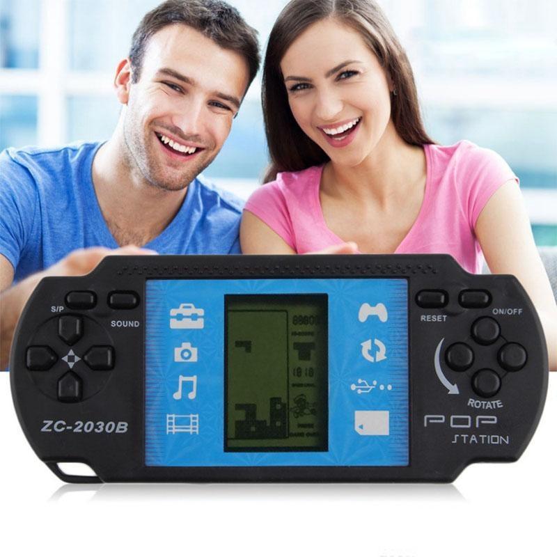 Compre Consola De Juegos Tetris Clasica Para Jugadores De Juegos De