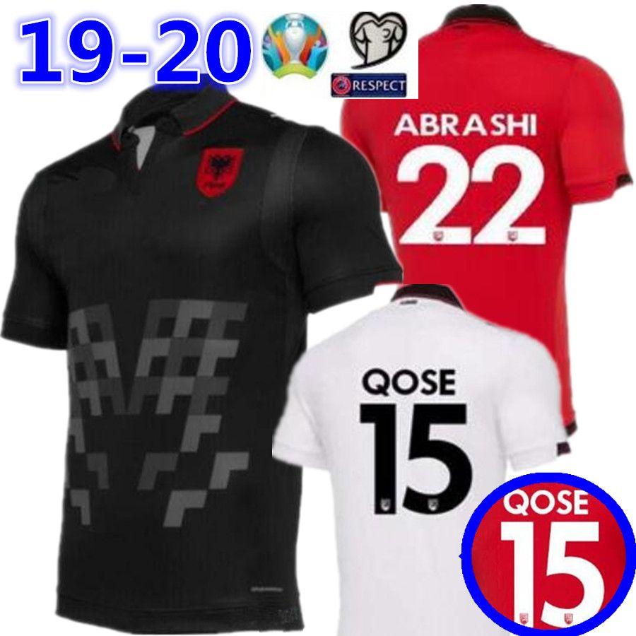 0a6c48e266f 2019 2019 2020 Republic Of Albania Soccer Jerseys QOSE ABRASHI HYSAJ XHAKA  Custom 19 20 Albania Home Red Away Football Jersey Shirt From Rui666888