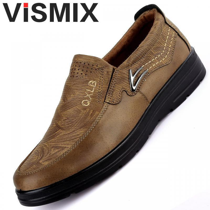 153ccc4957f2 Sneakers 2019 New Plus Size 38-48 Men Casual Shoes Fashion Leather ...