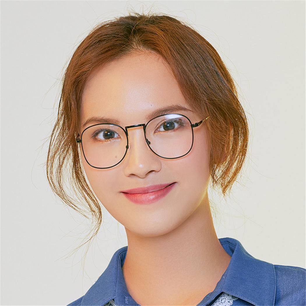 64725c9edbc49 2019 Unisex Fashion Metal Eyeglasses Frames Vintage Simple Unisex ...