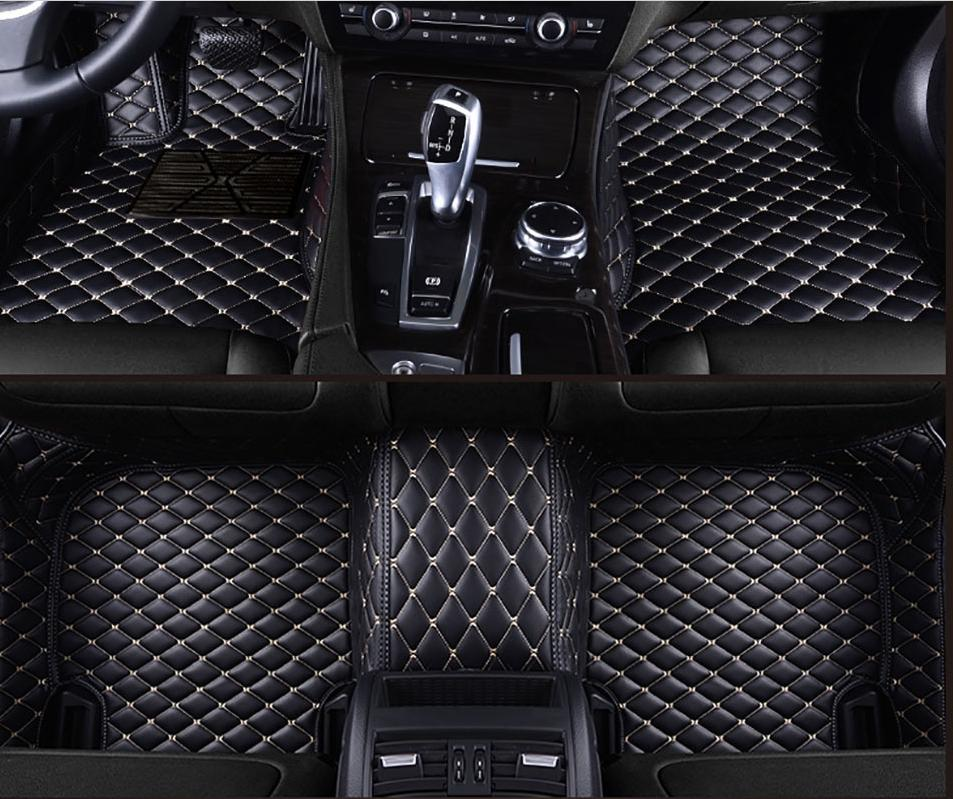 For Audi A8/A8L/5-seat car/2011-2017 year car interior surrounded by stitching non-slip environmentally
