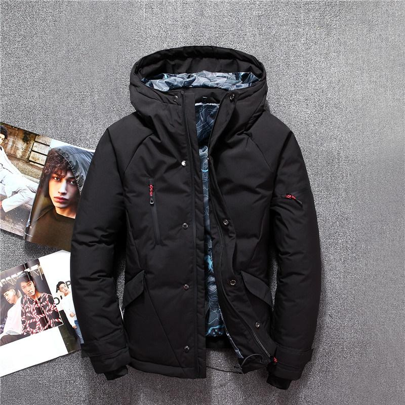 f79e3b6c88857 New Fashion Brand Men Down Jacket White Duck Downs Thermal Down Jacket  Autumn Winter Top Quality Men Warm Coat Parkas Down Jackets Cheap Down  Jackets New ...