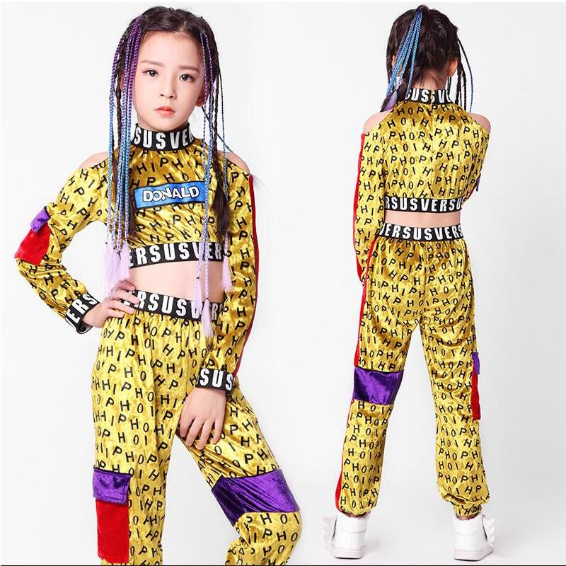 Acquista Bambini Jazz Hip Hop Abbigliamento Casual Felpa Tops Jogger Pants  Outfit Ragazze Abbigliamento Da Ballo Costume Da Ballo Abbigliamento Da  Ballo A ... fad38cbf743d