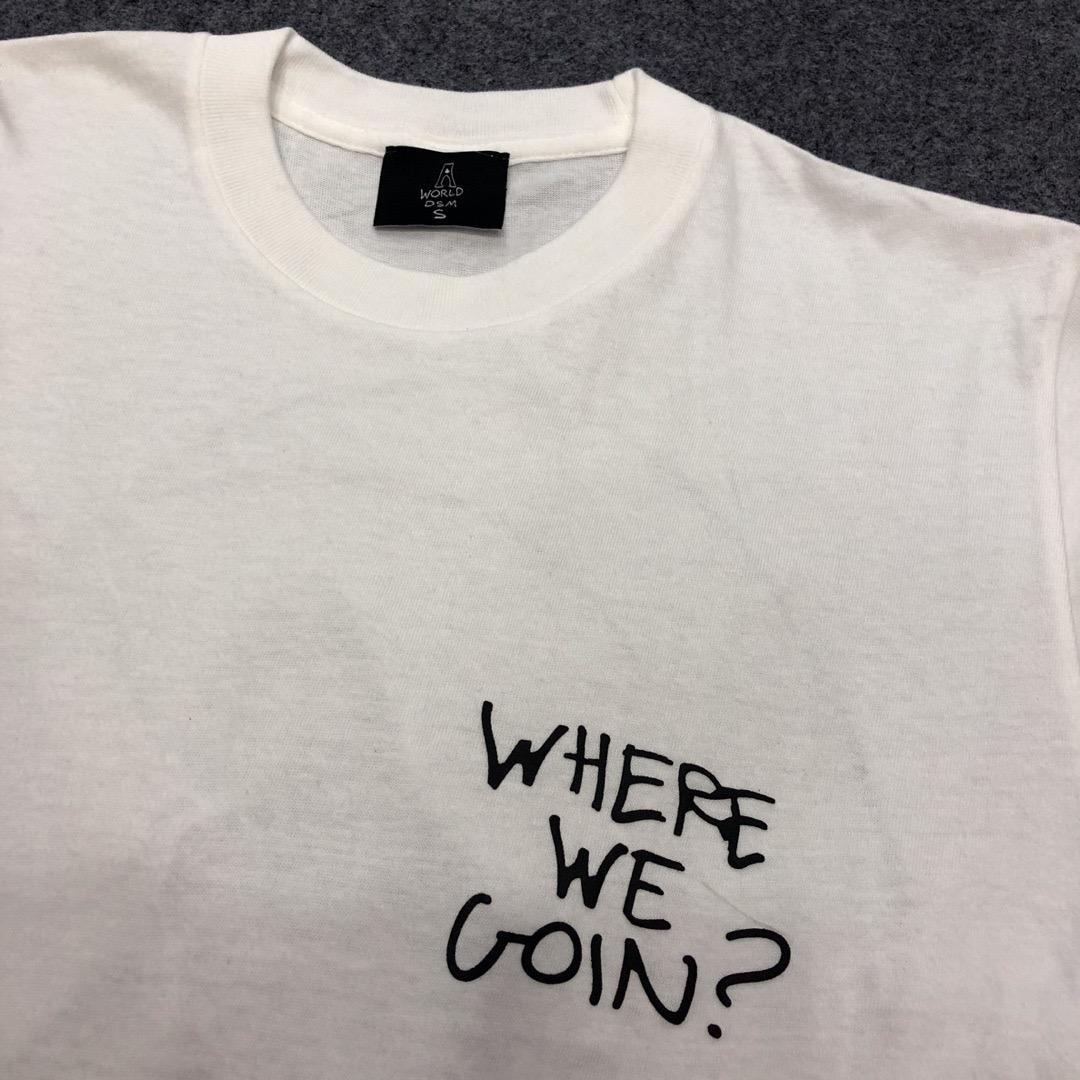 2019 Rap Star Scott Astroworld La Lune Imprimé Femmes Hommes T-shirts T-shirts Hiphop Streetwear Hommes Coton T-shirt D'été Style