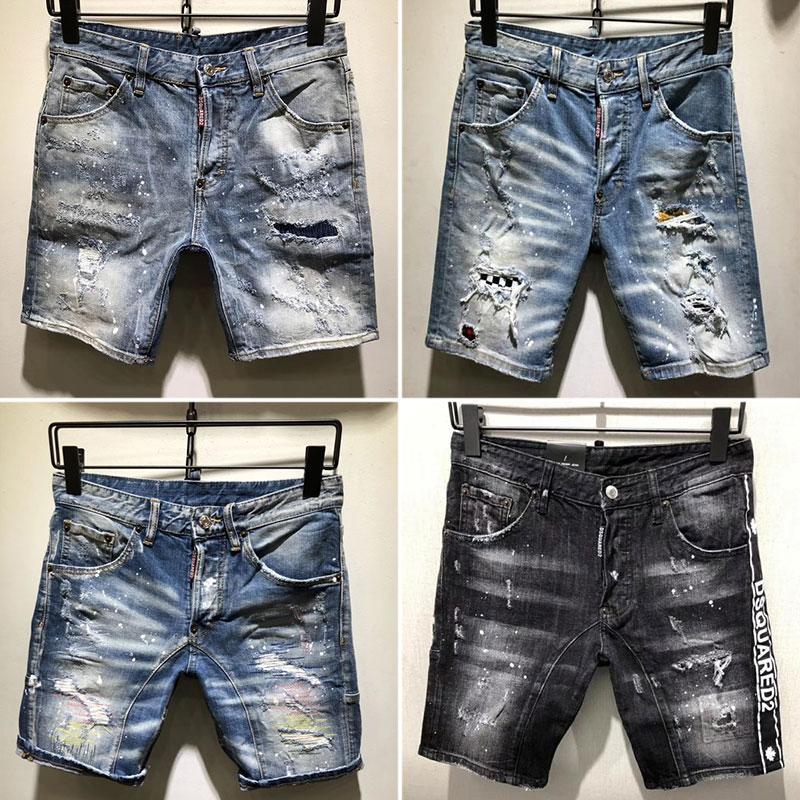 99b00328c5e4 2019 Nuevo diseñador de la marca famosa largo ripped joven suave  Individualidad para hombre jeans calidad suave moda de lujo biker jeans  para hombres ...