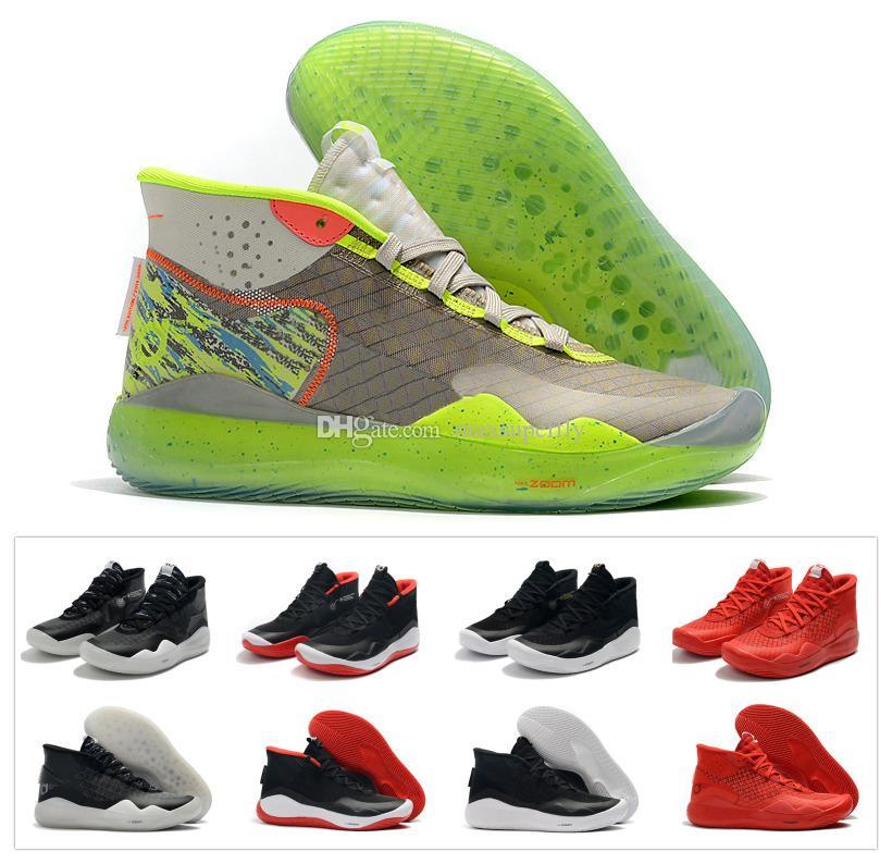 2b22c7e4 Compre 2019 New Boys Kids Kevin Durant KD 12 12S KD12 XII Zapatillas De  Deporte Zoom Zapatillas De Baloncesto Juvenil Juvenil Mujer X Elite Mid  Sport ...