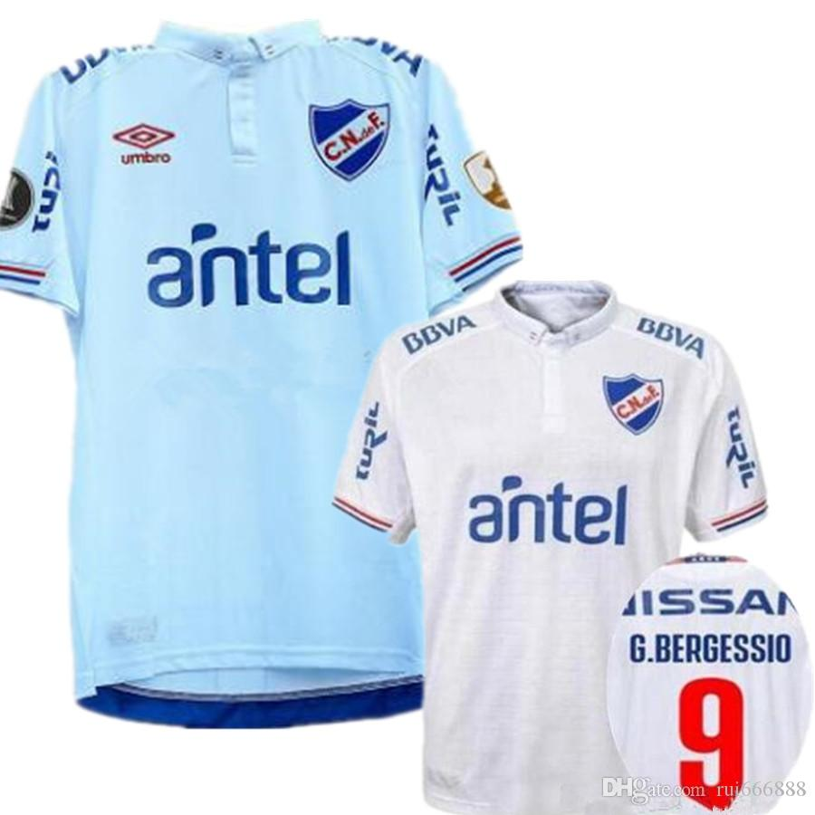375f91ef9 2019 2019 20 Club Nacional Soccer Jerseys Rivero Bergessio Futbol Camisa  Football Camisetas Shirt Kit Maillot Maglia Tops From Rui666888