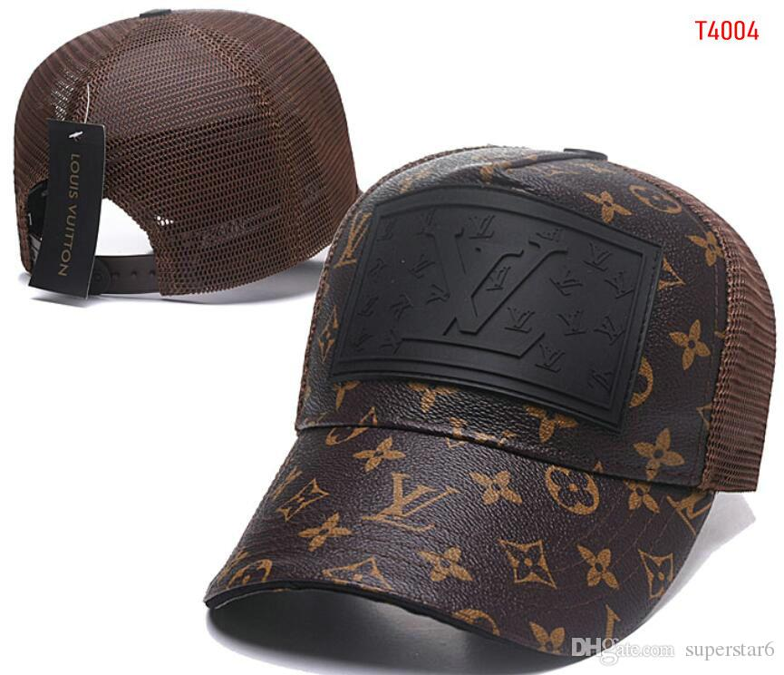 2af23e9bf6c0a Wholesale Panel Diamond Mesh Snapback Caps L V Hip Hop Cap Flat Luxury Hat  Hats For Men Casquette Gorras Planas Bone Masculino Dad Hat 01 Work Blouses  Neck ...