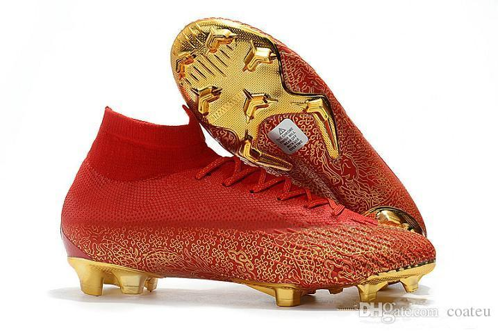 b86bfb8809b 2019 New Mens CR7 Melhor Elite Ronaldo KJ VI 360 FG Soccer Shoes Football  Boot Mercurial Superfly 6 Cristiano Ronaldo Men Soccer Cleats From Coateu