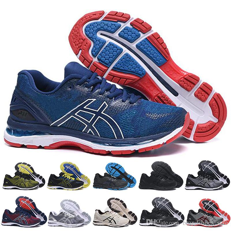 d06a6f3a940d GEL Nimbus 20 Stability Breathable Running Shoes For Men Black White Blue  Red Mens Trainer Fashion Sports Sneakers Runner Woman Running Shoes Mens  Running ...