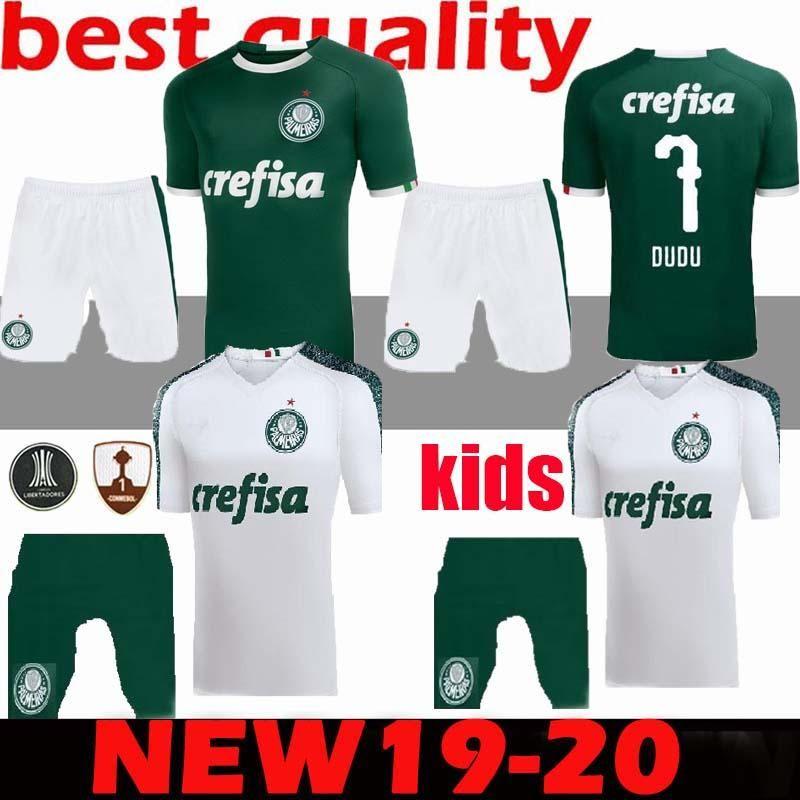 buy online 89ae3 e8c44 2019/20 Série A Palmeiras kids kits home Soccer Sets Football Shirt 19/20  Palmeiras kids home child Soccer jersey boys Football Shirts