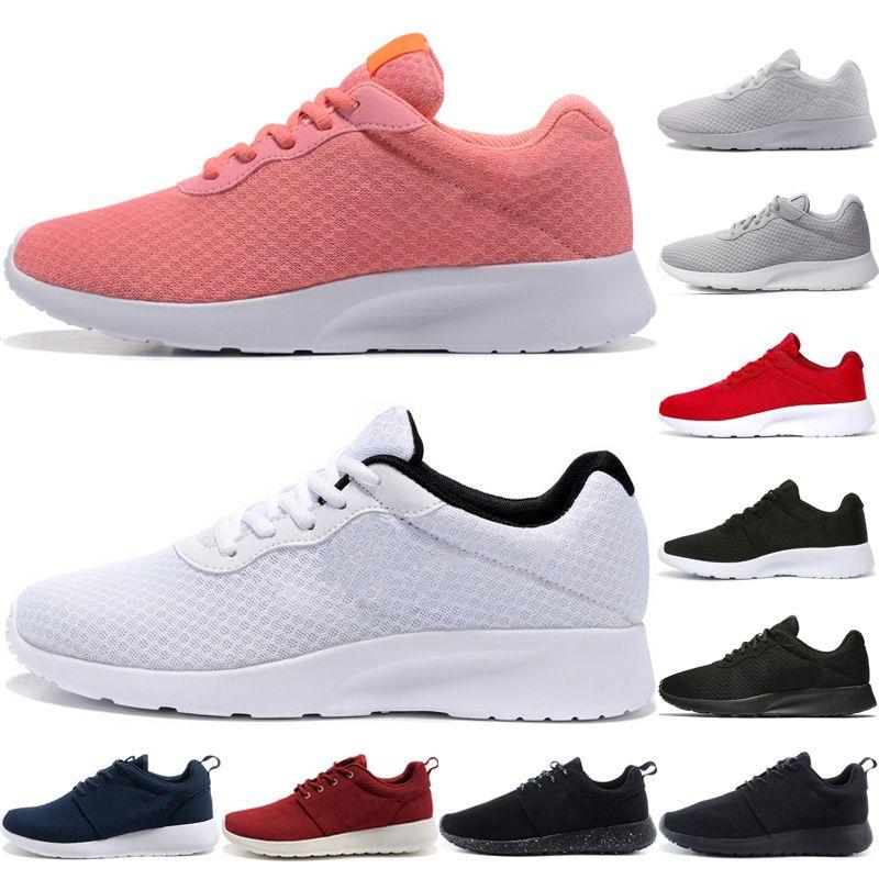 8738f17320e69 Tanjun Triple Black White Run Running Shoes for Men Women 3.0 1.0 ...