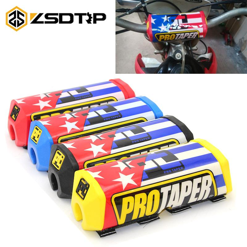 Pro Taper Handlebars >> Zsdtrp Pro Taper Handlebar Pads Square Fat Bar Cheat Pad Handlebar Protector Chest 22cm 28cm Pit Dirt Bike Motorcross