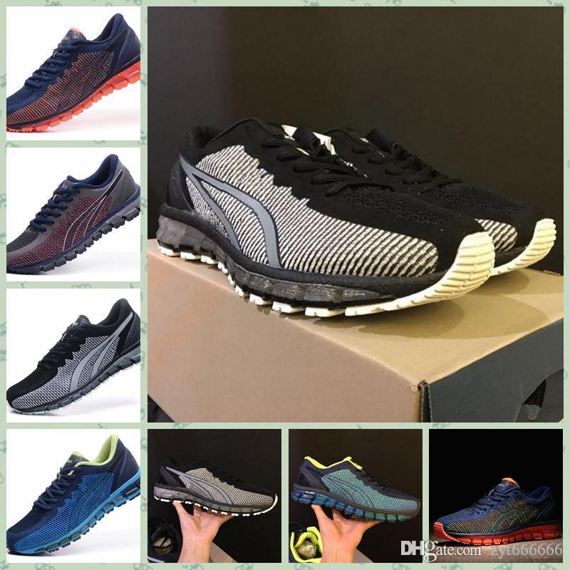 online store 27679 a155b Asics GEL-QUANTUM 360 KNIT 1 2019 T5J1N-0990 GEL-Quantumss 360 Homens  Sapatos de Corrida de Alta Qualidade de Treinamento Barato New Hot Sale  Andando ...