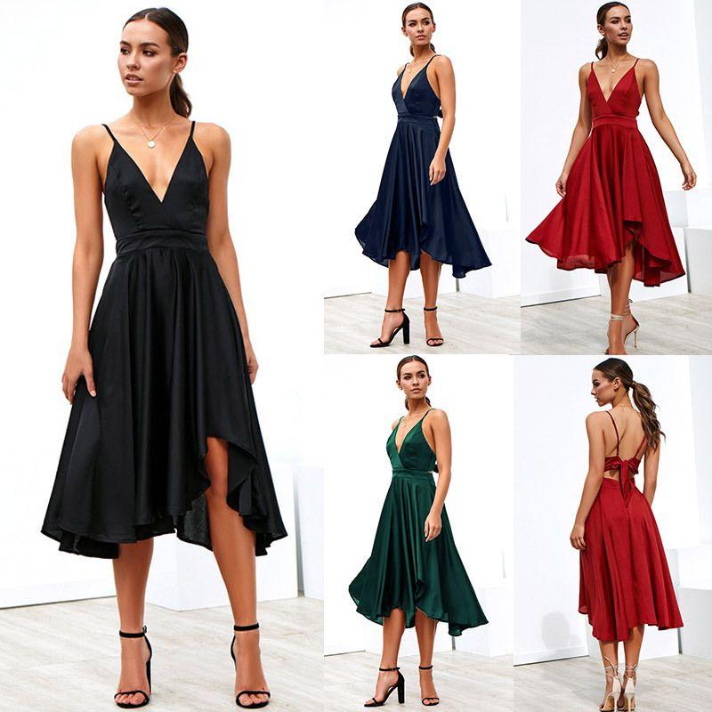 Formal Dress Women For Party Chic Boho Maxi Dresses Long Plus Size ...