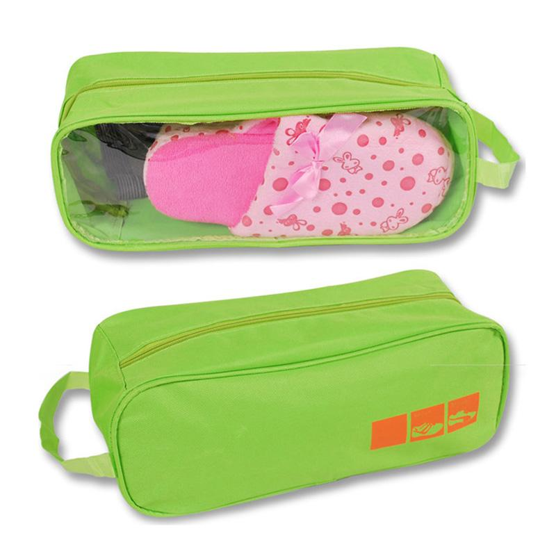Popular Brand Portable Shoes Storage Travel Bag Shoes Case Organizer Tote Bag Evident Effect Storage Boxes & Bins