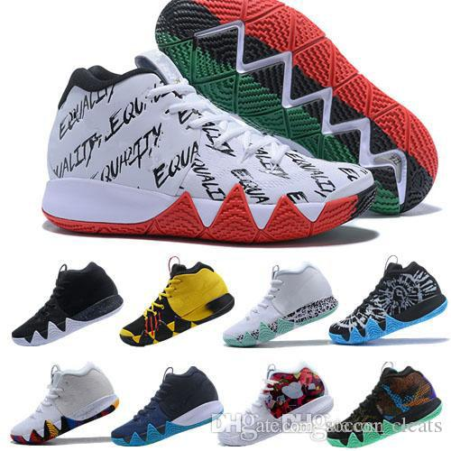 the latest 6adf8 6952d New 2018 Kyrie Mens Basketball Shoes Men Irving 4 4s Mens Basket ball  designer Shoes Multi-color Kyries Outdoor Sports Sneakers Zapatillas