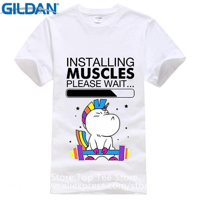 cf2aa126 Print logo on shirt mens unicorn installing muscles please wait jpg 800x800 Unicorn  installing