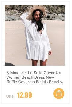 Minimalism Le Cover Up Bikinis Solid Hollow Beachwear Women Knitting Mesh Beach Dress Swimsuit Female Summer Beach Tunic Vestido