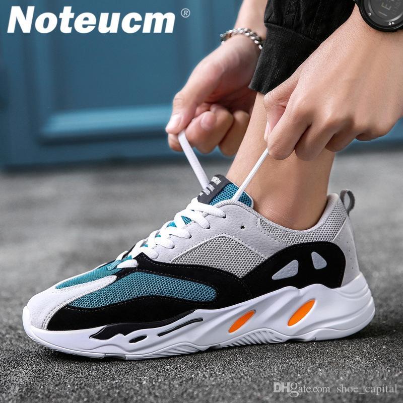Casual Famous Designer Fashion 2018 Autumn Size 44 Wedge Sneaker Men Shoe  Male Krasovki Men S Basket Femme Dad Chunky Kanye West  115579 Yellow Shoes  Gold ...