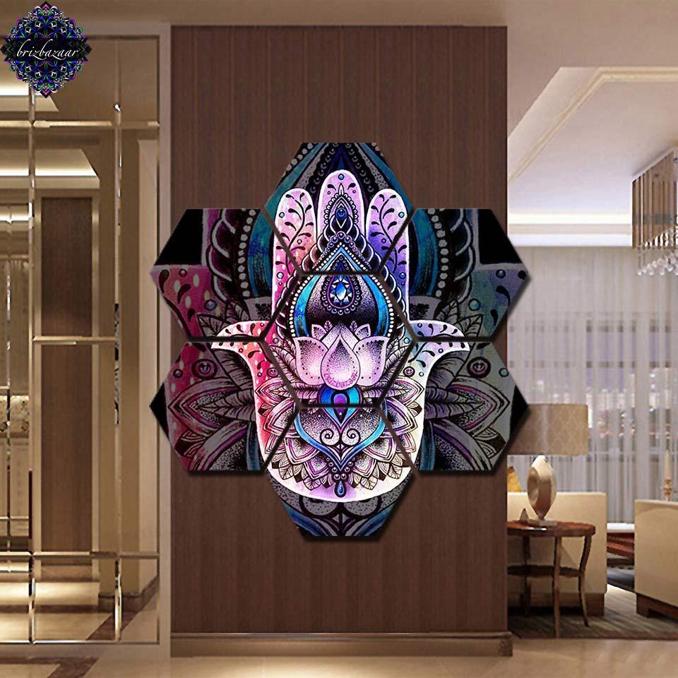 hamsa by brizbazaar posters wall painting art home decor modern 7 rh dhgate com