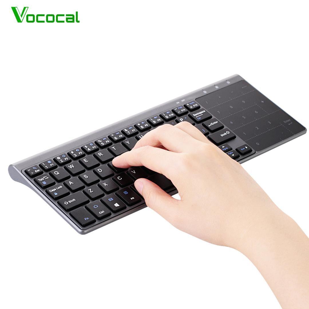 elisona 2 4ghz mini wireless touch keyboard key board keypad rh dhgate com