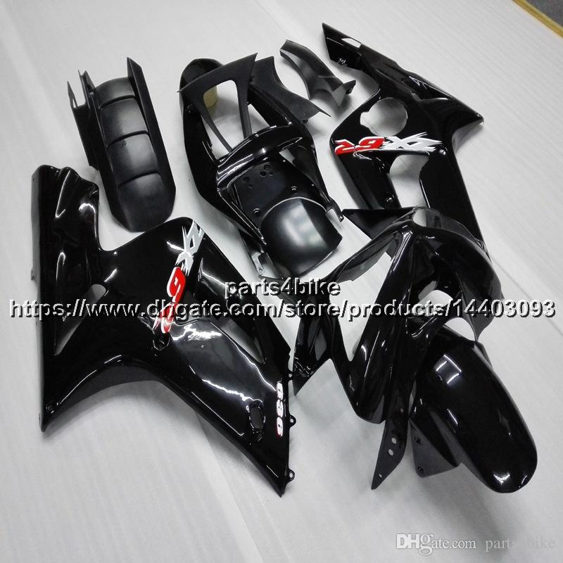 Custom5gifts Injection Mold Glossy Black Motorcycle Fairing For