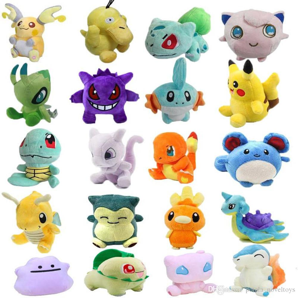 3a25ae3f9fcf 2019 18 20CM Jigglypuff Pikachu Plush Toys Eevee 8inches Stuffed Animals  Pet Elf Fat Ding Pet Elf Ib Ibe 3 Patterns In Stock Pocket Monster Pokeb  From ...