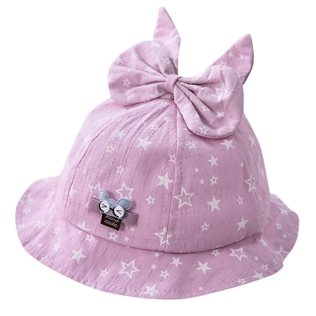30815cc6688 2019 ARLONEET Baby Toddler Sun Hats Cute Ear Bucket Hat Butterfly Printed  Fisherman Cap Infant Girls Boys Summer Beach Caps From Lou88