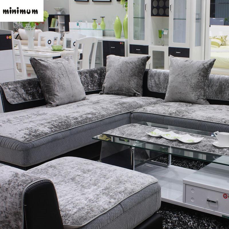 european style four seasons sofa cover anti skid leather general plush towel sofa cover modern slipcover free shipping rh dhgate com