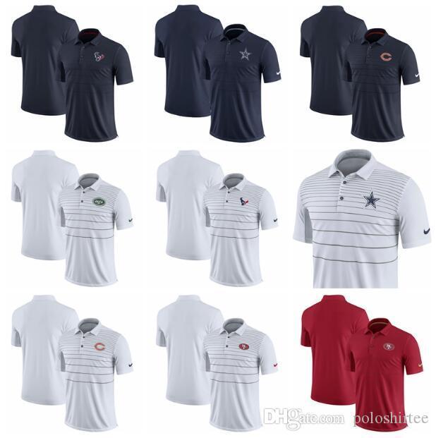 eb7308e5967 2019 New York Jets San Francisco 49ers Polo Shirt Houston Texans Chicago  Bears Dallas Cowboys Miami Dolphins Early Season Polo Shirt From  Gddjersey2