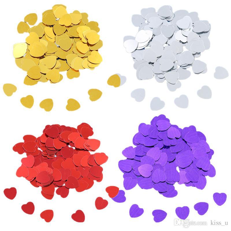 10mm plastic heart sparkling confetti wedding birthday bridal shower rh dhgate com