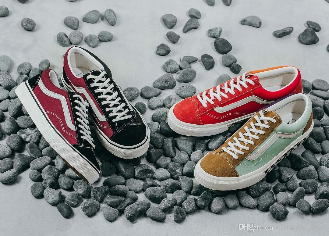 71605feb924c Vans japan line old skool og asia exclusive men casual shoes jpg 1080x774 Yellow  vans shoes
