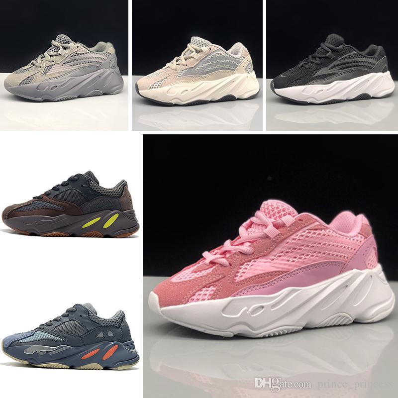 super popular 2a65e 75125 Großhandel Addidas Yeezy 700 Kinder Schuhe Wave Runner 700 Kanye West  Laufschuhe Jungen Mädchen Trainer Sneaker 700 Sportschuh Kinder Sportschuhe  Mit Box ...