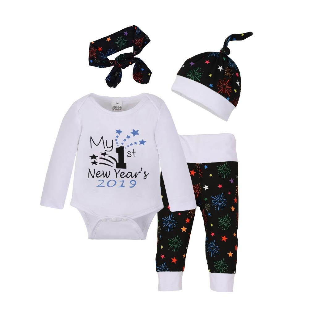 53473024d 2019 Newborn Baby Boys Clothing Set Cotton Tops Bodysuits Long ...