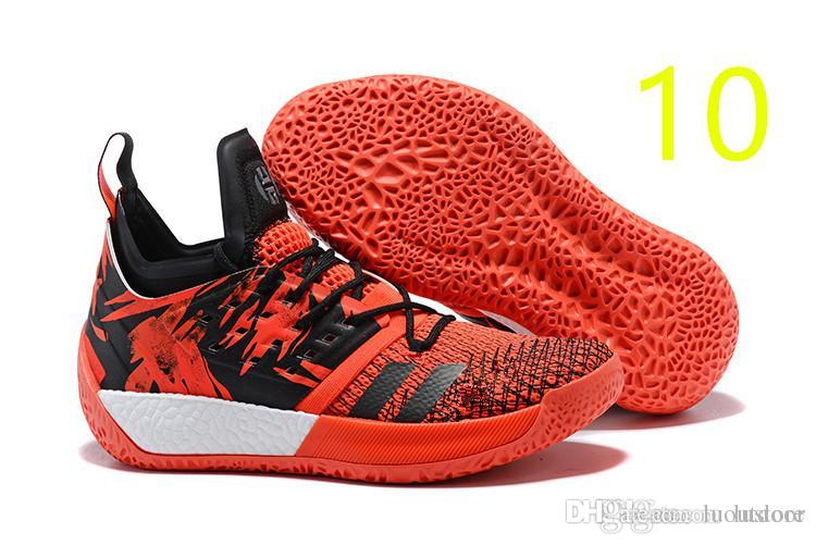 Cheap 2019 HOT James Harden Vol 2 Basketball Shoes Black Blue White Grey  Mens Harden Vol.2 Sneakers SIZE US7-11.5 Luoutdoor 07fa0954d