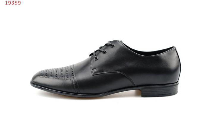 78408030e5 Compre Zapatos De Cuero Negros Zapatos De Cuero Para Hombres Como Suela De  Goma Vestido Formal Trabajo De Negocios Ocio Zapatos De Moda Juvenil A   84.47 Del ...