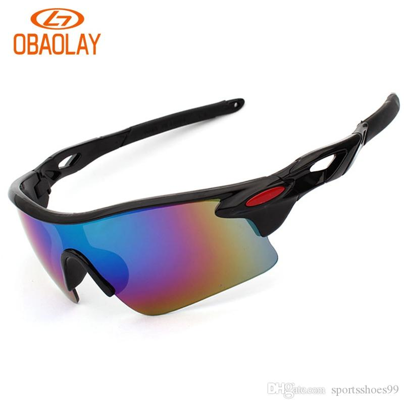 cb4750e2917 2019 Obaolay Brand New Men Women Sun Glasses Bike Bicycle Eyewear Outdoor  Sports Cycling Sunglasses Windproof UV400 Goggles  221946 From  Sportsshoes99