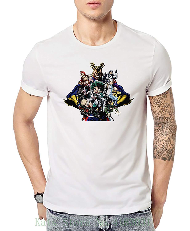 competitive price 411ee 6fb4f Maglietta da uomo Zegoo Maglietta manica corta Graphic Graphic Magliette  bianche Stampa T Shirt Summer Style