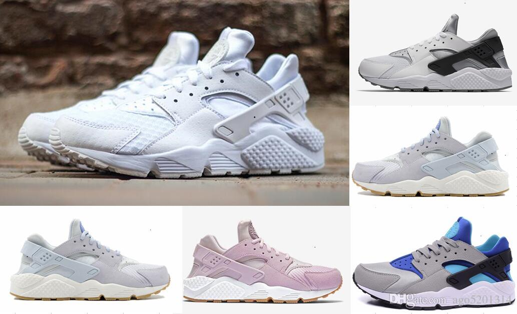 ee0d2d143c958 2019 Huarache 1.0 4.0 Running Shoes Men Women Top Quality Stripe Balck  White Oreo Sport Shoes Designer Sneakers Trainers 36 45 Womens Running  Trainers Shoes ...