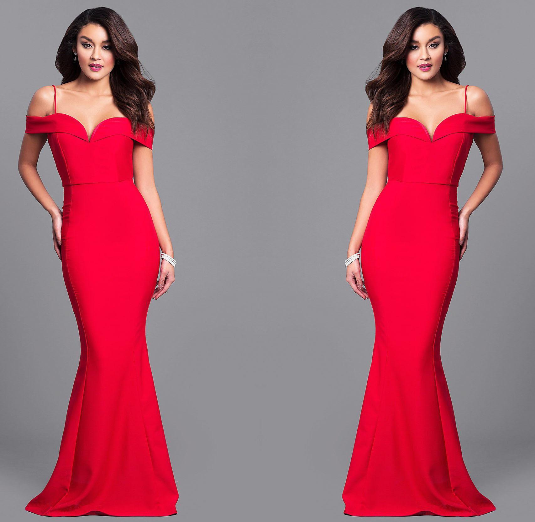 0ba15fbdd 2019 Off Shoulder Black Mermaid Prom Dresses Long Arabic Dress Lace  Appliques Pearls Formal Evening Gowns Zipper Back