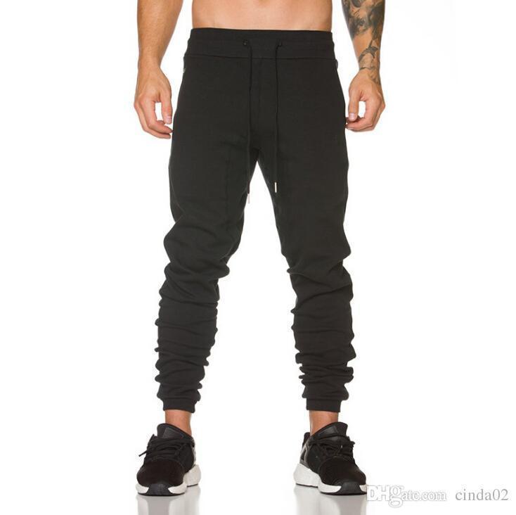 Compre Nuevos Joggers Para Hombre Pantalones De Harén De Moda Pantalones De  Chándal Slim Fit Hip Hop Hombres Para Correr Pantalones Deportivos De Danza  A ... 4c0d4d5c1f2