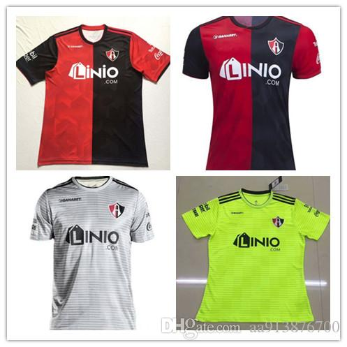 481e791c1 2019 To 2018 19 Mexico Club Atlas FC Soccer Jersey 2018 Home Red Away White  18 19 LEON NECAXA Queretaro Xolos De Tijuana Football Shirts From  Aa913876700