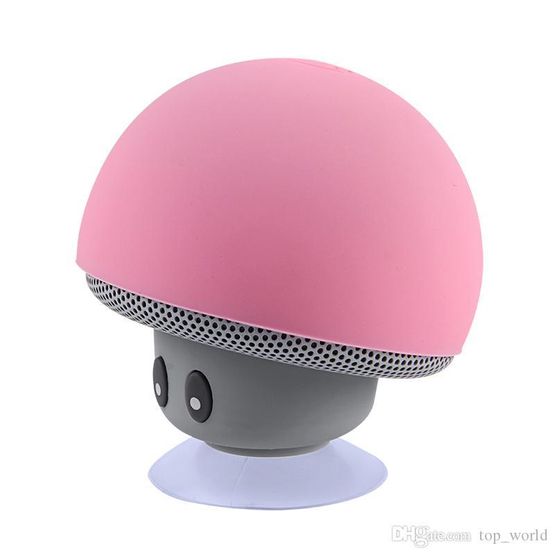 e050477def692 Großhandel Mini Bluetooth Lautsprecher Wasserdicht Pilz Wireless Musik HiFi  Stereo Subwoofer Hände Frei Für Telefon Android IOS Von Top_world, $6.82  Auf De.