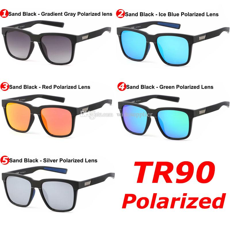 Newest Popular Brand Designer Sunglasses TR90 Polarized Sunglasses for Men Women Driving Glasses Surfing Sunglasses 5 Colors High Quality