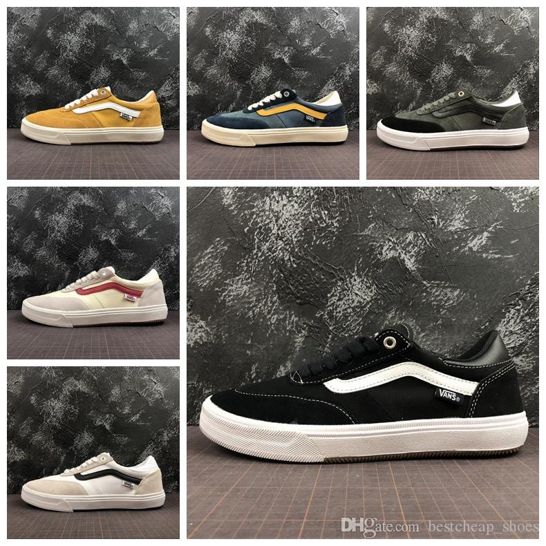 0b5937519ed047 2019 Vans Gilbert Crockett 2 Pro Old Skool Men Casual Shoes Skate Canvas  Sports Mens Running Shoes Designer Vans Sneakers Trainer Size 36 45 From ...
