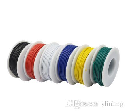 30 AWG Wrapping Wire 6 Colors Single Strand Copper Cable Ok Wire Electrical Wire for Laptop Motherboard PCB Solder